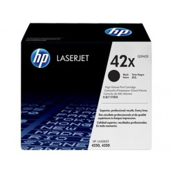 Original HP 42X LaserJet-tonerpatron med høj kapacitet, sort (Q5942X)