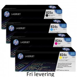 HP 824a/825a toner alle 4...