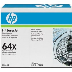 Original HP 64X Lasertoner sort (CC364X)