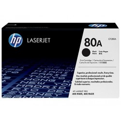 Original HP 80A Laser toner sort (CF280A)