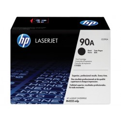 Original HP 90A toner, sort (CE390A)